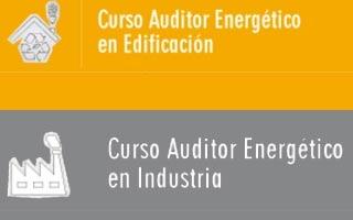 Nuevos cursos de auditor energético en industria y edificación de A3e