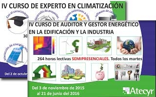 Atecyr, formación integral y de calidad impartida por expertos del sector de la climatización