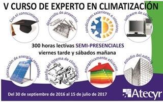 V Curso de Experto en Climatización