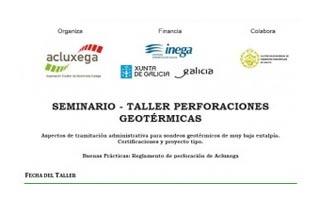 Seminario Taller sobre Perforaciones Geotérmicas
