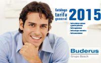 Nuevo Catálogo Tarifa 2015 de Buderus con las últimas novedades para el ahorro de energía en calefacción