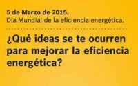 Junkers promueve ideas para el Día Mundial de la Eficiencia Energética