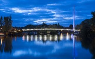 Schréder dispone la iluminación Led en el nuevo puente peatonal sobre el río Támesis