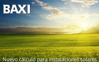 Solar on-line, nueva aplicación para el cálculo de instalaciones de energía solar térmica de Baxi