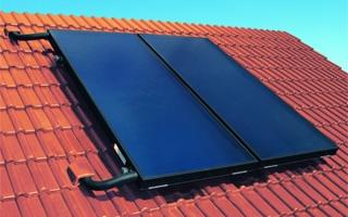 Colectores solares planos con protección contra el sobrecalentamiento ThermProtect de Viessmann