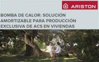 """Ponencia Ariston: """"Bomba de calor: solución amortizable para producción exclusiva de Agua Caliente Sanitaria en viviendas"""""""