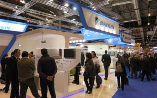 Daikin apuesta por la eficiencia energética y refrigerantes de última generación en Climatización 2015