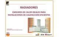 """Ponencia Ferroli: """"Radiadores. Emisores de calor ideales para instalaciones de calefacción eficientes"""""""