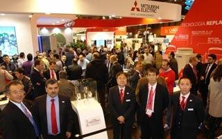 Mitsubishi Electric división Aire Acondicionado valora positivamente su presencia en Climatización 2015