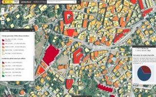 gSolarRoof , modelo geográfico para la estimación del potencial fotovoltaico sobre cubiertas y tejados