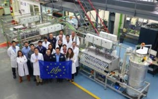 LIFE ZAESS: Sistema de almacenamiento de energía renovable basado en baterías de flujo de zinc-aire