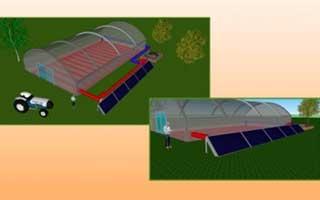Almunia Solar: Instalación solar-geotérmica en invernadero para reducir emisiones de CO2
