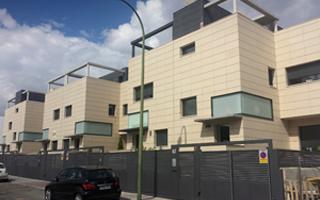 Instalación de geotermia en seis viviendas pareadas situadas en Valdebebas