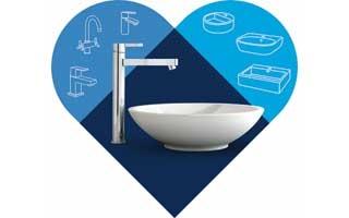 Grohe presenta la aplicación Bestmatch™ que propone la grifería más adecuada para cada tipo de lavabo