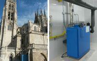 La Catedral de Burgos actualiza su instalación de calefacción con calderas de condensación Buderus