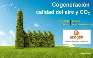 Jornada de Acogen sobre Cogeneración, Calidad del Aire y CO2