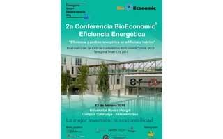 """2ª Conferencia BioEconomic®  Eficiencia Energética: """"Eficiencia y Gestión Energética en Edificios y Hoteles"""""""