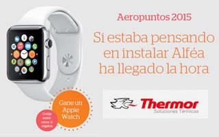 """Thermor lanza la promoción """"Aeropuntos 2015"""" por la instalación de su bomba de calor Alféa"""