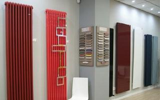 Nuevo showroom de radiadores de diseño Irsap en Madrid