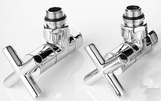 Válvulas de diseño Runtal Minimalist para radiadores y toalleros