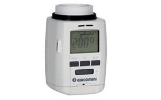 Giacomini regala una válvula termostática por la compra de cabezales electrónicos programables