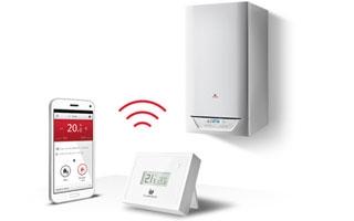 Regula la calefacción desde el móvil con el sistema MiGo de Saunier Duval