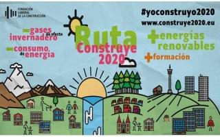 """Comienza la """"Ruta Construye 2020"""" una campaña sobre buenas prácticas y consejos útiles en materia de rehabilitación y eficiencia energética"""