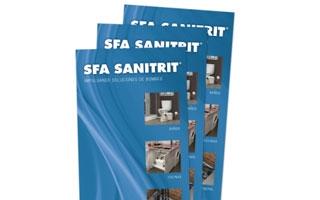 El nuevo catálogo tarifa 2015 de SFA Sanitrit actualiza su oferta de bombas de evacuación para sanitarios