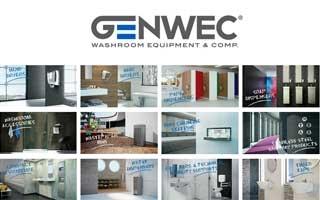 Genwec, empresa del grupo Genebre,  presenta una nueva gama de equipamiento para baños colectivos