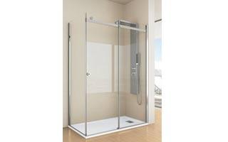La línea Aqualight de Grandform permite múltiples opciones de instalación para la ducha