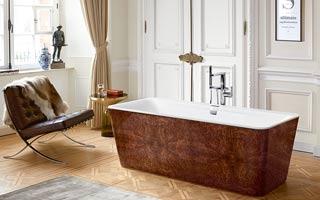 La bañera Squaro Prestige de Villeroy & Boch, diseño exclusivo y decoración artesanal