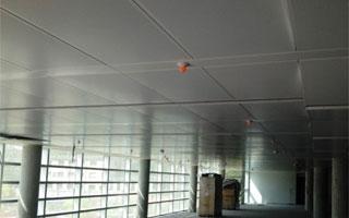 Giacomini instala 8.000 metros de techo radiante en la Tesoreria General de la Seguridad Social de Valladolid