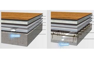 Sistema de ventilación por el suelo Zehnder OnFloor e InFloor