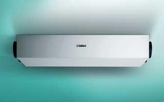 Ventilación con recuperación de calor con la gama recoVAIR de Vaillant