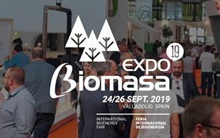Cartel Expo biomasa 2019