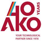 AKO logotipo 40 aniversario
