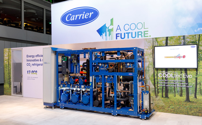 Carrier CO2OL Tec EVO refrigeración con CO2
