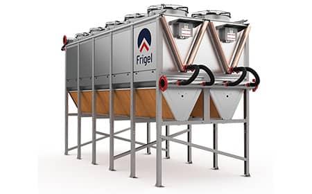 sistema de enfriamiento adiabático Ecodry