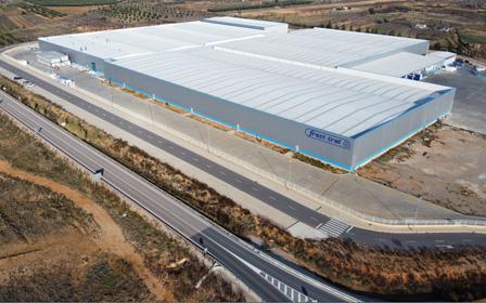 Nueva planta de producción de Frost-trol en Cabanes