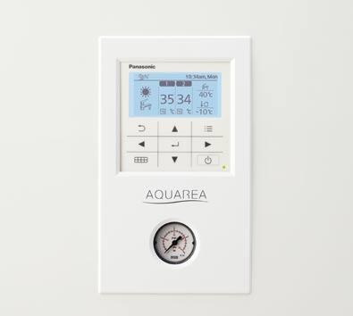 Panasonic control caldera Aquarea