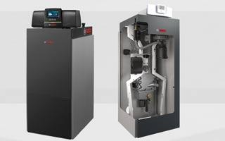 Calderas de condensación de pie a gas Condens 7000F de Bosch