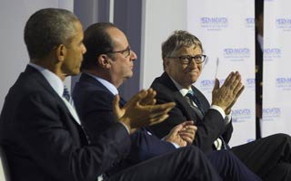 Obama-Hollande-Gates