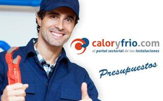 Instalador en el Site Presupuestos Caloryfrio.com