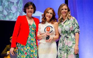 Susana Rodríguez recoge el Premio Extremadura Empresarial
