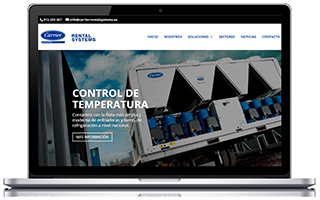Nueva página web de Carrier Rental Systems