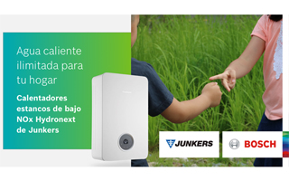Agua caliente ilimitada para tu hogar campaña de Junkers calentadores bajo NOx