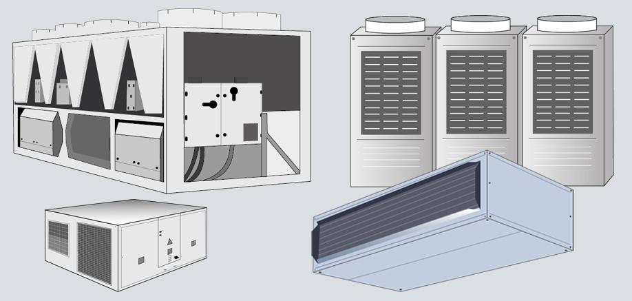 Sistemas de climatización para edificios