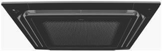 Cassette de techo negro para climatización marca General