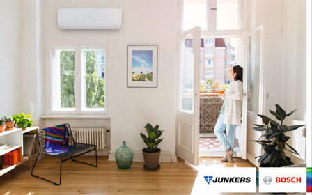 Split de aire acondicionado Junkers Comfort Start R32