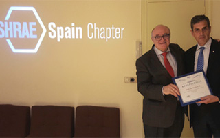 Nuevo presidente Ashrae Spain Chapter